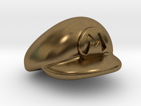 M-Plumber Cap in Natural Bronze