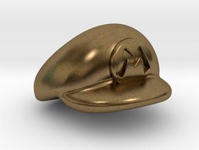 M-Plumber Cap in Natural Bronze