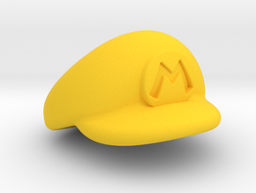 M-Plumber Cap in Yellow Strong & Flexible Polished