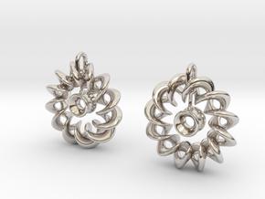 Ear Ring Pendant3 in Platinum