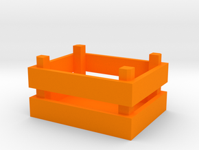 Crate 1/32 Model in Orange Processed Versatile Plastic
