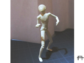 1/20 scale ALPHA EGO BJD kit, Male V01 in Smooth Fine Detail Plastic