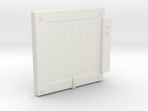 "Handscanner for 6-7"" figures in White Natural Versatile Plastic"