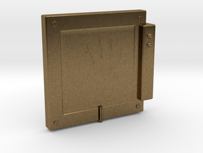 """Handscanner for 4"""" figures (3 3/4"""" or 1:18 scale) in Natural Bronze"""