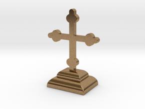 Desimir Cross 1 in Natural Brass
