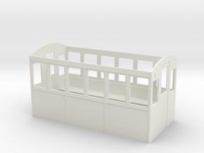 Wagenkasten in White Natural Versatile Plastic