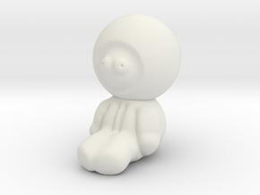 Kenny in White Natural Versatile Plastic