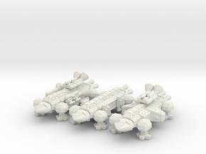 Spacer1999 Eagle Bonus Booster Set in White Natural Versatile Plastic