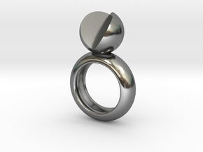 SIMPLY LOVE - size 6 in Polished Silver