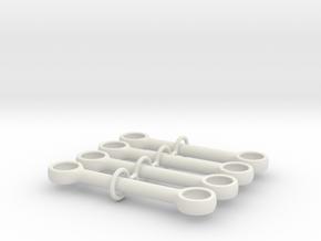5m Pushrod in White Strong & Flexible