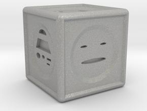 Mood Dice  in Aluminum
