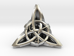Celtic D4 in Natural Silver