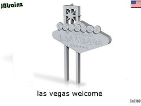 Las Vegas welcome (n-scale) in Smooth Fine Detail Plastic
