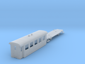 ZB (H0e) - 5-Fenster-Personenwagen B19 (alt) in Smooth Fine Detail Plastic