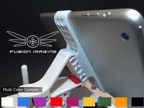 iPad Mini Remote Mount for DJI Phantom in White Processed Versatile Plastic