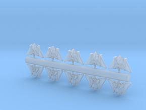 10 Arachnid Interceptors in Smooth Fine Detail Plastic