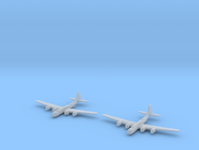 B-29 (Qty.2) Global War Scale in Smooth Fine Detail Plastic