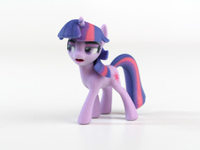 My Little Pony - Twilight Posed (≈65mm tall) in Full Color Sandstone