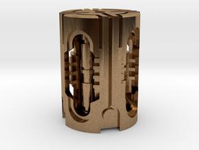 MBPB-A13-TEK in Natural Brass