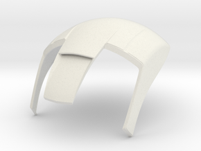 Iron Man mkIII Helmet - Part 3 in White Natural Versatile Plastic