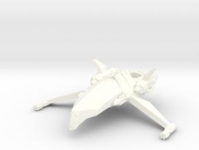 Zen Dazi - K'tesh Class Frigate in White Processed Versatile Plastic