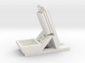 Desk/Dash Caddy Charging Dock #SWiPhone6 in White Natural Versatile Plastic