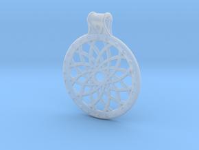 Dream Catcher Pendant in Smooth Fine Detail Plastic