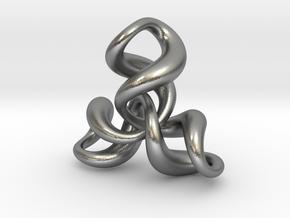 Tri3 in Natural Silver