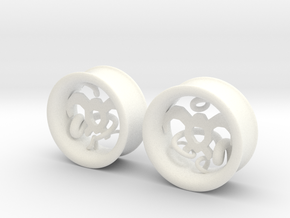 Wind Tamer 1 Inch Tunnels in White Processed Versatile Plastic