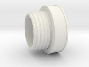 Revan Pomel in White Natural Versatile Plastic