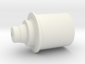 Revan Emiter in White Natural Versatile Plastic
