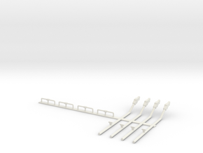 09-Probes and landing gear uplock mechanism in White Natural Versatile Plastic