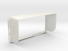 Iphone 6 Plus Topload SunShade in White Natural Versatile Plastic