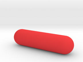 pill in Red Processed Versatile Plastic
