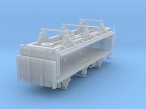 ZB (H0e) - 3ax-Stirnwandwagen - Kombi in Smooth Fine Detail Plastic