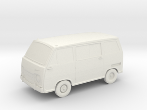 1966 Subaru 360 Van (Sambar) 1:24 in White Strong & Flexible
