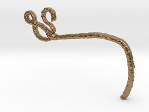 Ebola in Natural Brass