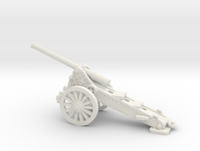 1/160 De Bange cannon 155mm in White Strong & Flexible
