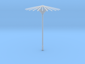 Doll Sunshade 1:6 in Smooth Fine Detail Plastic