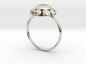 Diamond Ring US Size 8 UK Size Q in Platinum
