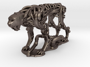 RoboCheetah 50% in Polished Bronzed Silver Steel