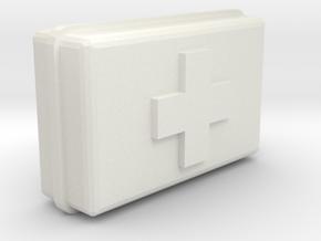 Medpack in White Natural Versatile Plastic