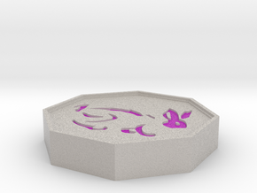Rabbit Talisman in Full Color Sandstone