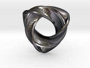 Trinity in Polished Grey Steel
