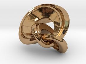 Knot Incendia Ex V4 33mm in Polished Brass