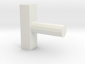 Razor Sword part 2 in White Natural Versatile Plastic