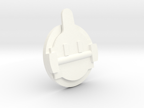 "1 1/2"" Scale Okadee Smoke Box Cleanout in White Processed Versatile Plastic"
