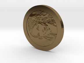 Sheever Tidehunter Coin in Polished Bronze