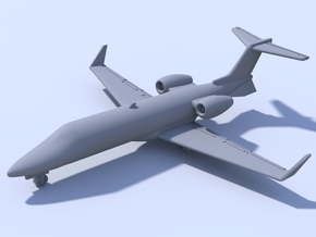 1:500 - Learjet_45 [Assembled] in Smooth Fine Detail Plastic