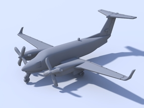 1:500 - KingAir_350 [Assembled] in Frosted Ultra Detail